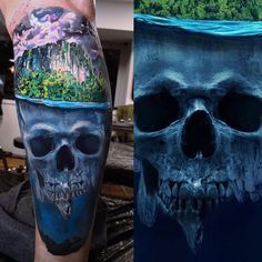 Tattoo artist Maksims Zotovs color authors tattoo realism | Riga, Latvia