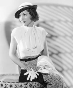 Actress Adrienne Ames. 1930s Fashion.