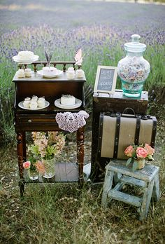 Wedding Inspiration: Romantic, Antique Styled Shoot