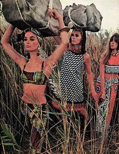 McCall Magazine January 1967. I like the outfits.