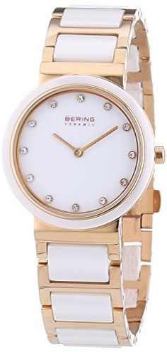Bering Time Women's Quartz Watch Classic 10729-766 with Metal Strap  Price… http://www.thesterlingsilver.com/product/eterna-sahida-womens-quartz-watch-with-mother-of-pearl-dial-analogue-display-and-white-leather-strap-2610-41-16-1375/