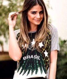 Brasil t-shirt for the world cup by Daslu