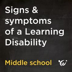 How do you know if your tween has a learning disability? Learn to read the signs.
