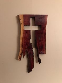 Excited to share the latest addition to my shop: Cedar Cross Wall Hanging Mosaic Crosses, Wooden Crosses, Wall Crosses, Wooden Art, Wood Wall Art, Wood Shop Projects, Wooden Pallet Projects, Woodworking Logo, Woodworking Projects