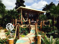 Australian Garden Show Sydney: 4 September 2014. Phil Withers' 'My Island Home'