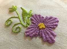 Getting to Know Brazilian Embroidery - Embroidery Patterns Brazilian Embroidery Stitches, Embroidery Stitches Tutorial, Types Of Embroidery, Silk Ribbon Embroidery, Embroidery Techniques, Floral Embroidery, Embroidery Patterns, Hand Embroidery, Pinterest Crochet