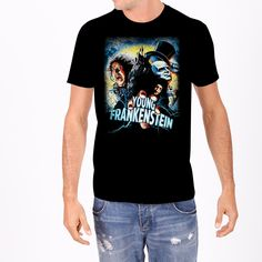 Young Frankenstein Poster Men's Tee