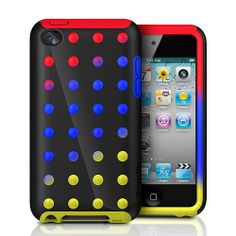itouch 4 cases graphic | XtremeMac Microshield Case for 4G iPod Touch - Dots - XtremeMac - Toys ...
