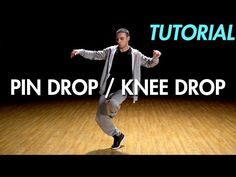 How to Pin Drop / Knee Drop (Hip Hop Dance Moves Tutorial) | Mihran Kirakosian - YouTube