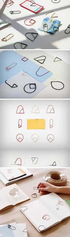 Areaware thinks the old paper-clip design needs to be retired, much like Clippy, Microsoft's annoyingly helpful Office Assistant. Their new series of paper-clips are made from spring steel and started off as simple line drawings which were later transformed into beautiful pieces of art that don't just clip pieces of paper together, but rather decorate them, bringing just the right amount of design intervention to the mundane.