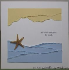 Kind Starfish by mjw - Cards and Paper Crafts at Splitcoaststampers