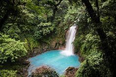 El río celeste (COSTA RICA)