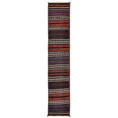 Afghan Baluch Kilim Runner | From a unique collection of antique and modern central asian rugs at https://www.1stdibs.com/furniture/rugs-carpets/central-asian-rugs/