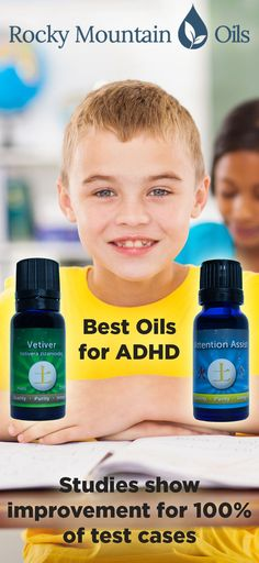 Wiggly ADHD kids meet essential oils! The 2 best oils for ADHD: Vetiver & Attention Assist