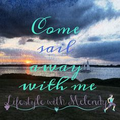The ocean is everything I love - and I wish I could live on it! Sail Away, Inspire Me, Sailing, Ocean, Neon Signs, Mom, Live, My Love, Beach