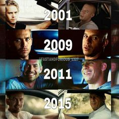 You can see their bond grow in every movie and in 7 you can just see it on Vin's face that he misses Paul already. He doesn't have the same emotion as the rest of the pictures. He knows that's the last time Paul was going to be there.