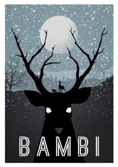 Awesome Bambi poster...