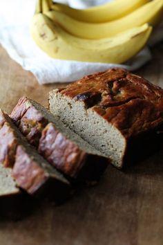 Coconut Flour Banana Bread - grain-free, naturally sweetened, and paleo! | theroastedroot.net #glutenfree @roastedroot