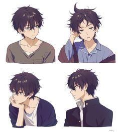 \\ 氷菓 \\ Hyou-ka \\ Hyouka: You can't escape \\ Hyou-ka: You can't escape \\ { mery } Handsome Anime Guys, Cute Anime Guys, Cute Anime Couples, Anime Boys, Manga Drawing, Guy Drawing, Anime Cosplay, Anime Style, Kawaii Anime