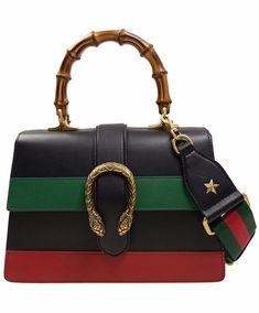 Gucci W Dionysus mini top handle bag Popular Purses, Tiger Head, Dionysus, Fall 2018, Gucci, Handle, Mini, Leather, Bags