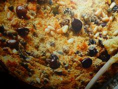 cardi gratinati - con olive taggiasche e pinoli -
