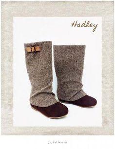 Joyfolie Hadley Tweed Slouch Boot