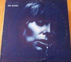 "Joni Mitchell / Blue / Gatefold 12"" Vinyl LP Record Stephen Stills James Taylor"