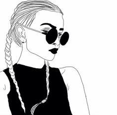 Fashion illustration // Artist unknown