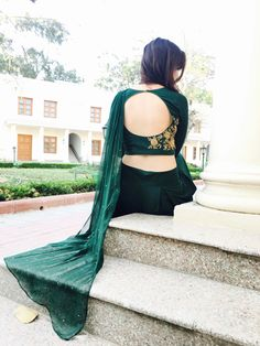 Mehendi Outfits, Western Wear, Backless, Suits, Stylish, How To Wear, Dresses, Fashion, Vestidos