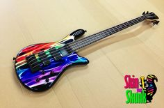 This custom Guitar Skin is truly amazing. - SkinYourSkunk.com