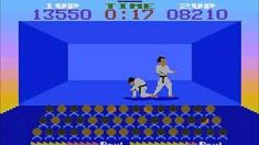 Chop Suey (1986) karate game - Atari 8-bit - by English Software