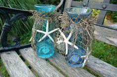 decorar jardin motivos marinos