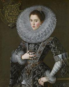 1603 Juan Pantoja de la Cruz - Portrait of Doña Ana de Velasco y Girón, Duchess of Bragance