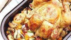 Pečené kuře se zeleninou z jednoho pekáče Foto: