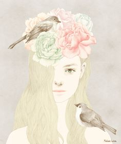 lovely pastel #illustration
