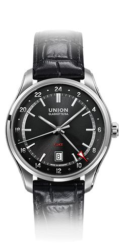 GMT with leather strap