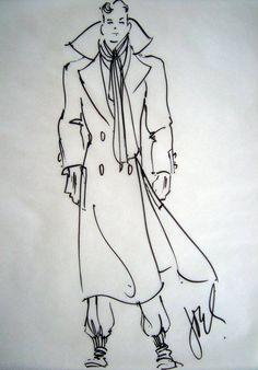 Fabulous drawing by Joel Woodard