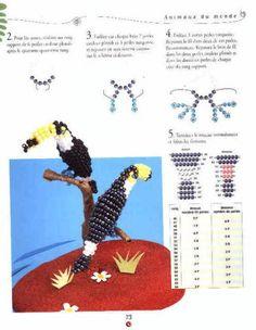 Тукан   biser.info - всё о бисере и бисерном творчестве