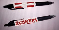 Nebraska Huskers G2 Pen Cover Pattern | Craftsy