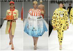 Moschino a/w 2014/15 in Milan Fashion Week