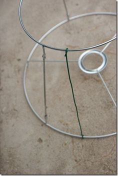 How to make wire frame for lampshade frameswall diy wire lampshade frame crafts for the home greentooth Images