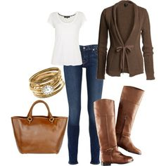 LOVE FALL! comfy look for the fall...me and baby Marshall will be pleased:)