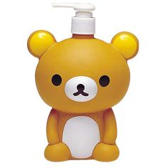 Rilakkuma Shampoo/Conditioner Dispenser