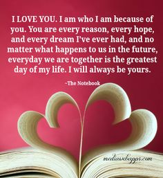 the notebook ~ love