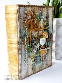 13 pasji by Ayeeda: Altered book box with May Flying Unicorn KOM