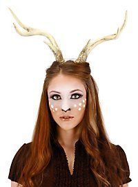 Deer Stag Animal Antlers Horns Reindeer Adult Christmas Xmas Costume Accessory for sale online Deer Antlers Costume, Deer Antlers Headband, Deer Costume, Faun Costume, Costume Hats, Halloween Karneval, Halloween Kostüm, Halloween Cosplay, Spirit Halloween