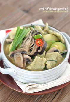 건강한 별미~쌀쌀한 날씨에 어울리는 부추 된장 수제비 – 레시피   Daum 요리