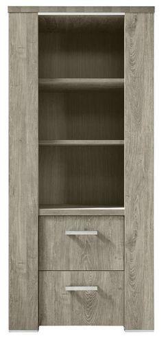Boekenkast Francisco | Voor meer informatie en de diverse mogelijkheden kijkt u op www.prontowonen.nl #ProntoWonen #boekenkast #kasten #woonkamer #eetkamer #interieur