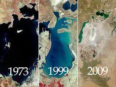 """Um engenheiro soviético declarou, em 1968, que era """"óbvio para todos que a evaporação do Mar de Aral era inevitável"""", confirmando a tese de causas naturais.  Contudo, já se sabia das manobras da União Soviética com as águas e das prováveis consequências das ações.  Um outro membro do governo soviético, o engenheiro Aleksandr Asarin, salientou que o lago estava condenado, explicando que aquilo """"fazia parte dos planos quinquenais, aprovado pelo Conselho de Ministros e do Politburo."""