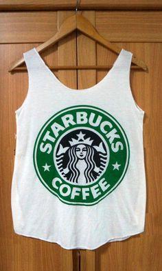 Starbucks Logo T-shirt! want soo bad!!!!!!!!!!!!!